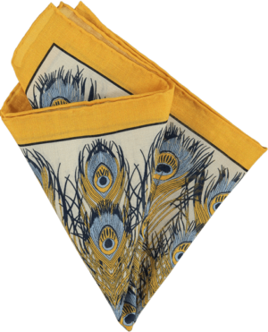 feather-pocket-square-gold