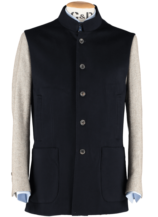 gilet-dark-navy-front-view