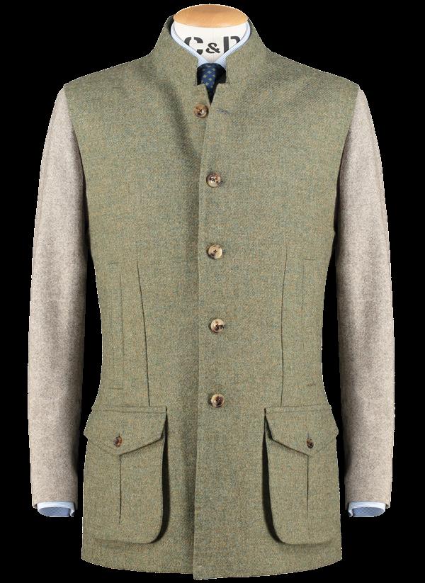 wool-gilet-moss-green