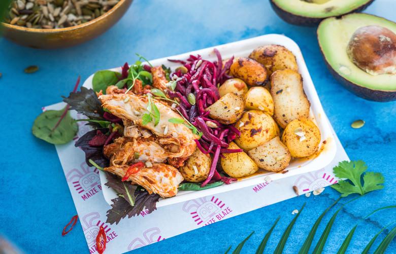 Maize Blaze Gluten Free Colombian Inspired Street Food