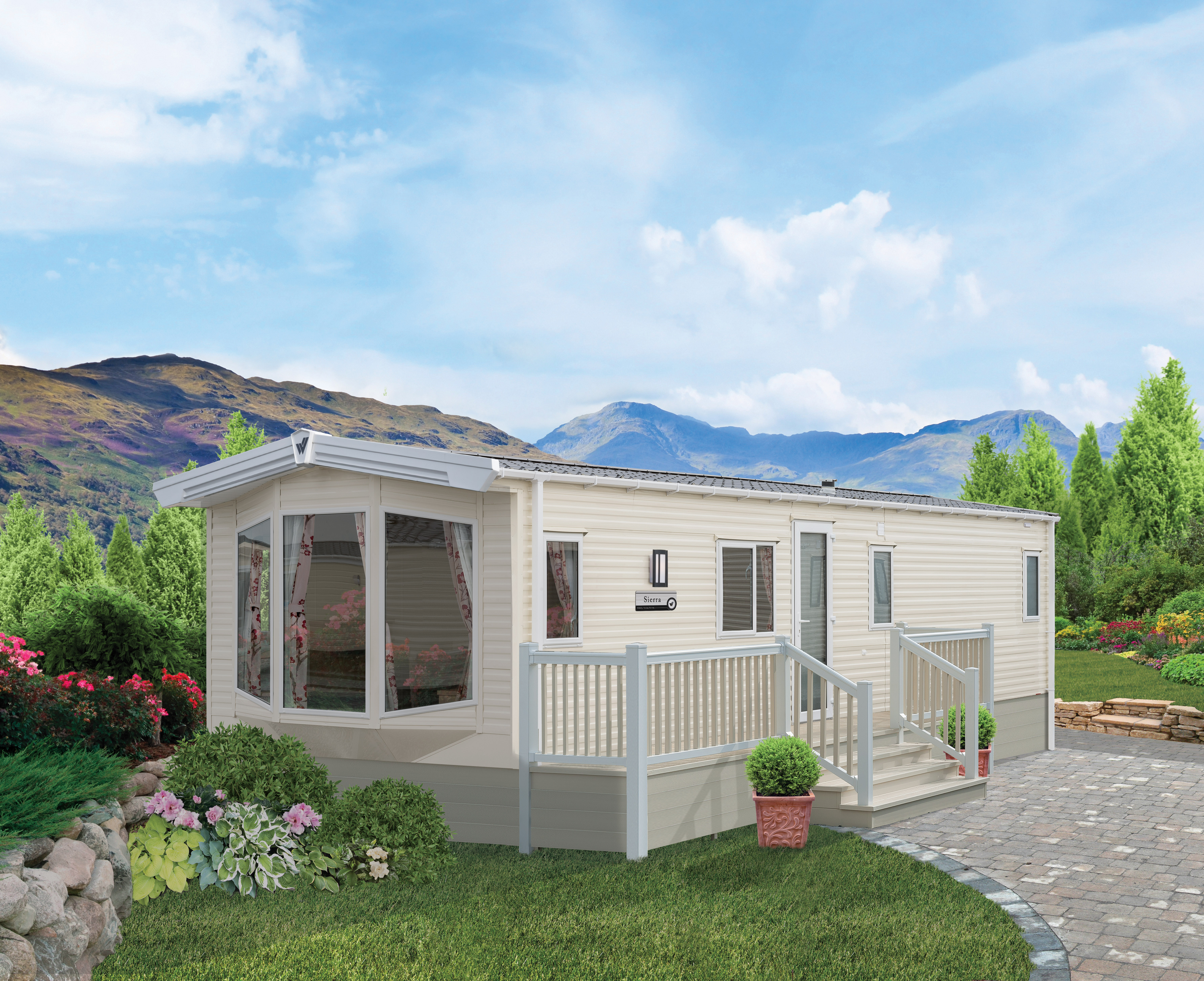 NEW 2018 – Willerby Sierra 38×12, 3 bedroom, Double Glazing & Central Heating