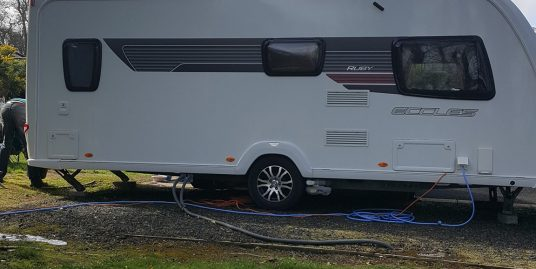 2011 Sterling ruby eccles fixed bed..full end bathroom 4 berth .
