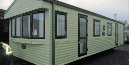 2005 willerby westmorland 35×12,2 bed / double glazed. tiled roof