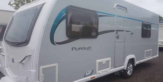 Bailey Pursuit 550 Fixed Bed Stunning