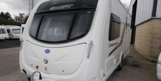 2014 SWIFT CONQUEROR 480/2 * 2-BERTH * END WASHROOM * SEP SHOWER * RC MOVER