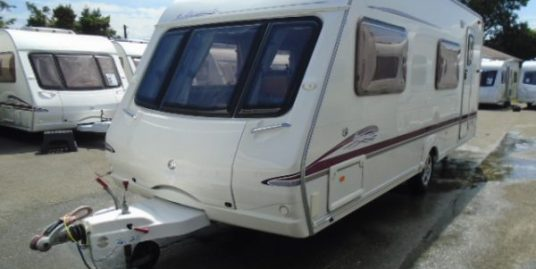 year 2005 swift accord 570 6 berth family caravan with bunk beds