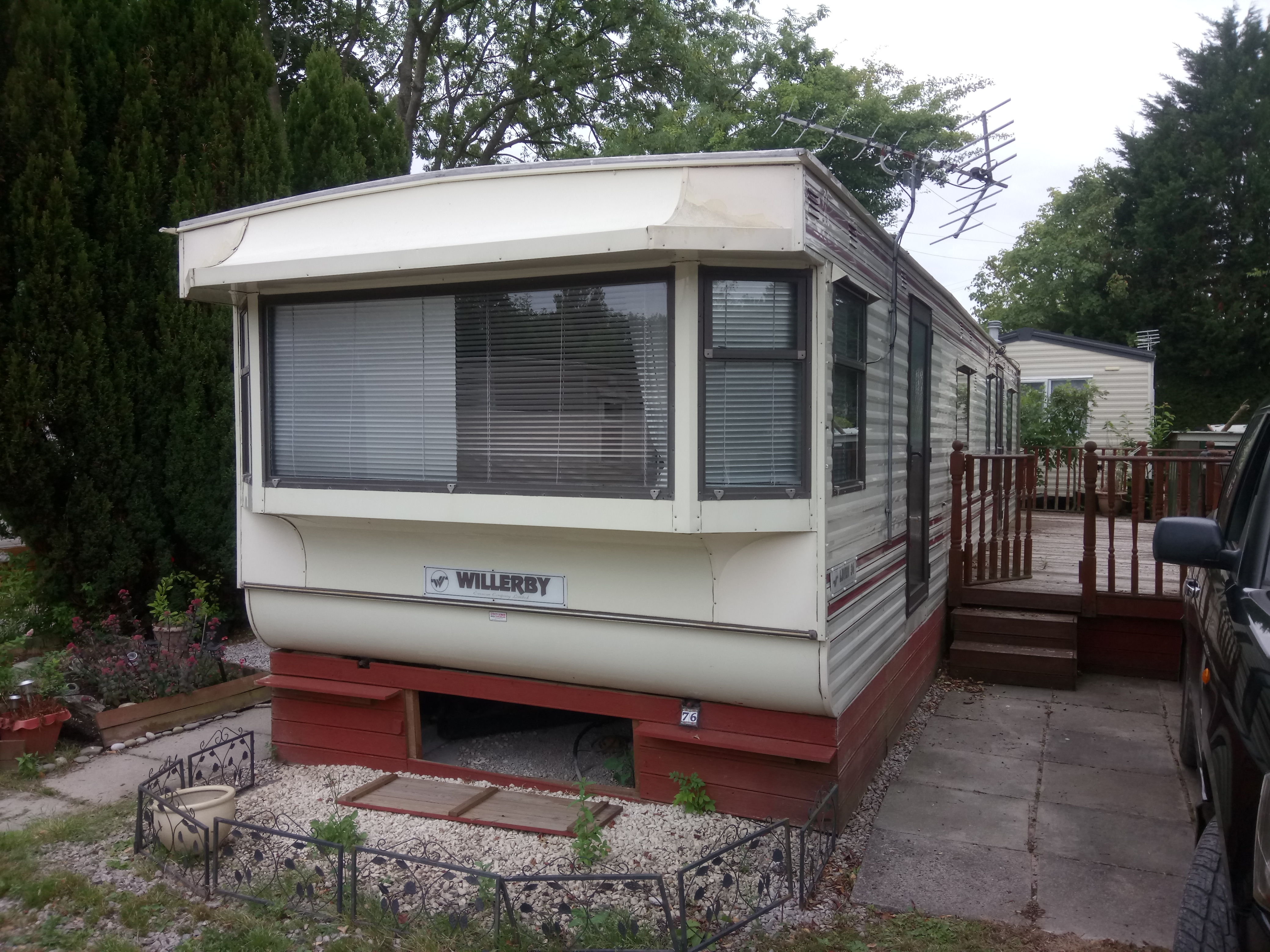 Static Caravan Willerby 10 by 34 Foot Two Bedroom Offsite Sale Only