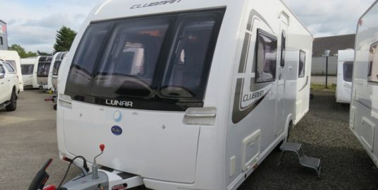 2014 LUNAR CLUBMAN SB * 4 – BERTH * FIXED SINGLE BEDS * END WASHROOM * SEPERATE SHOWER * RC MOVER *