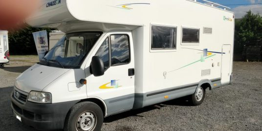 Low mileage 2006 Chausson Welcome 17 LHD 6 berth with bunks