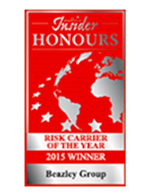 Risk Carrier of the Year 2015