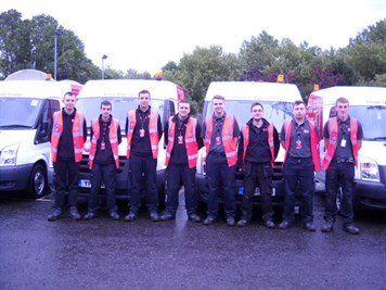 Apprentice team photo