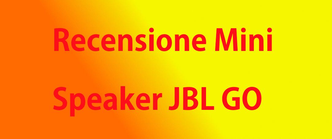 Il modello Jbl economico