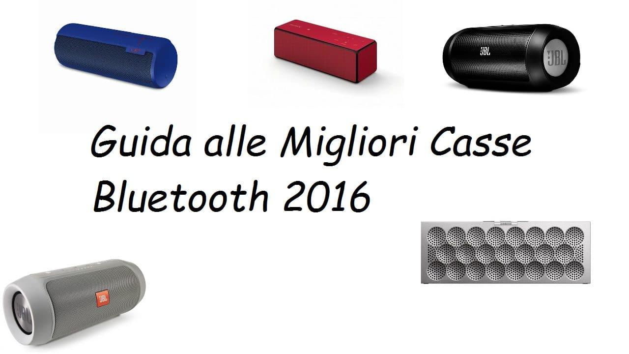 Speaker Bluetooth - Guida alle Migliori Casse Bluetooth