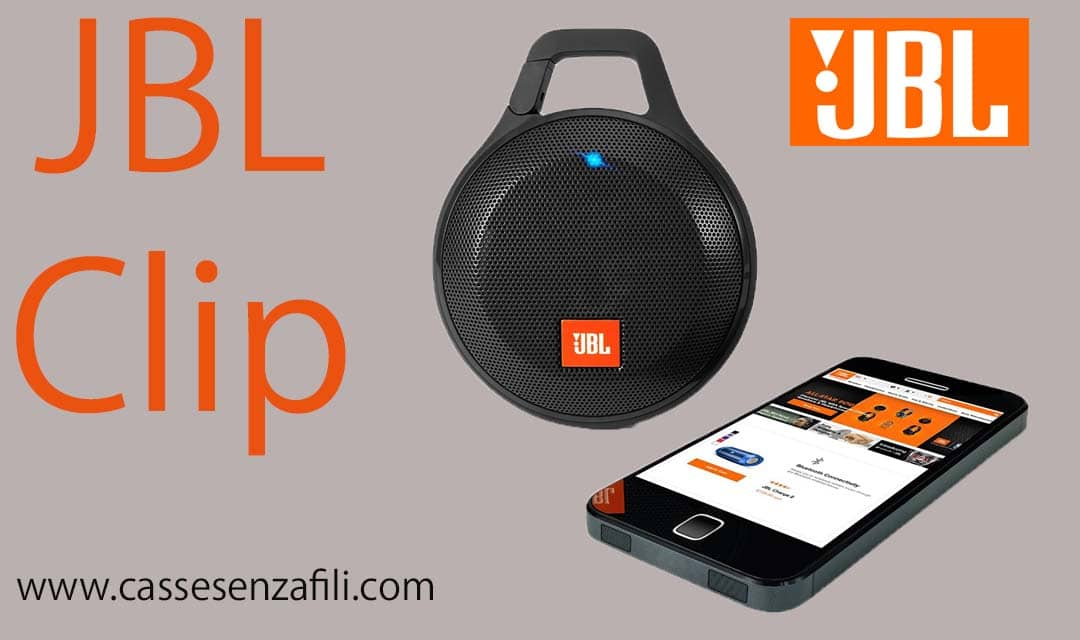 Jbl-Clip-Altoparlante-Bluetooth