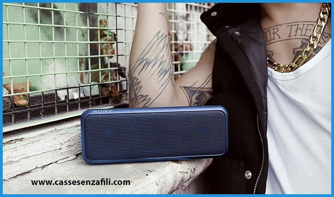 Sony SRS-XB3 – Recensione Italiana speaker bluetooth Sony SRS-XB3