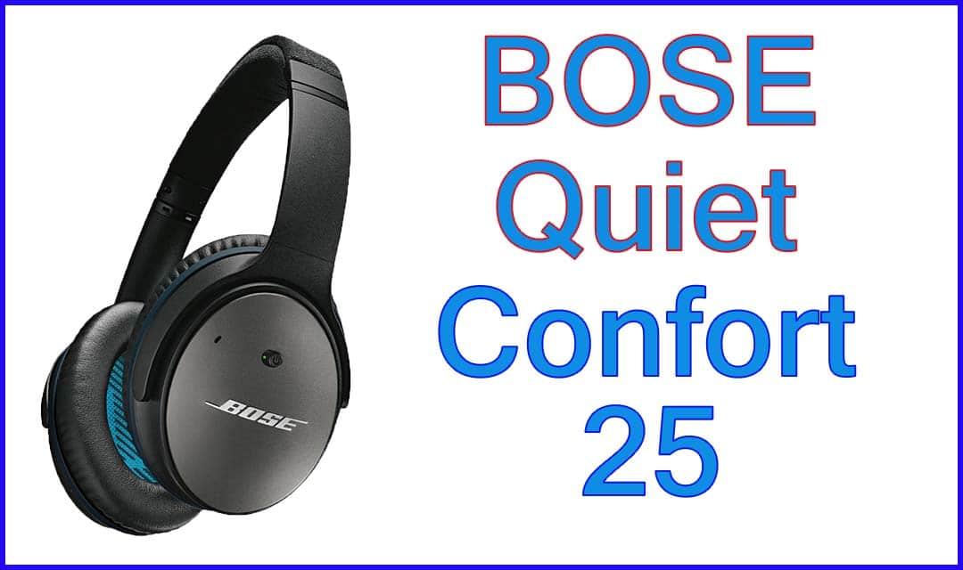 Bose QuietComfort 25 - Recensione Cuffie Antirumore QuietComfort 25