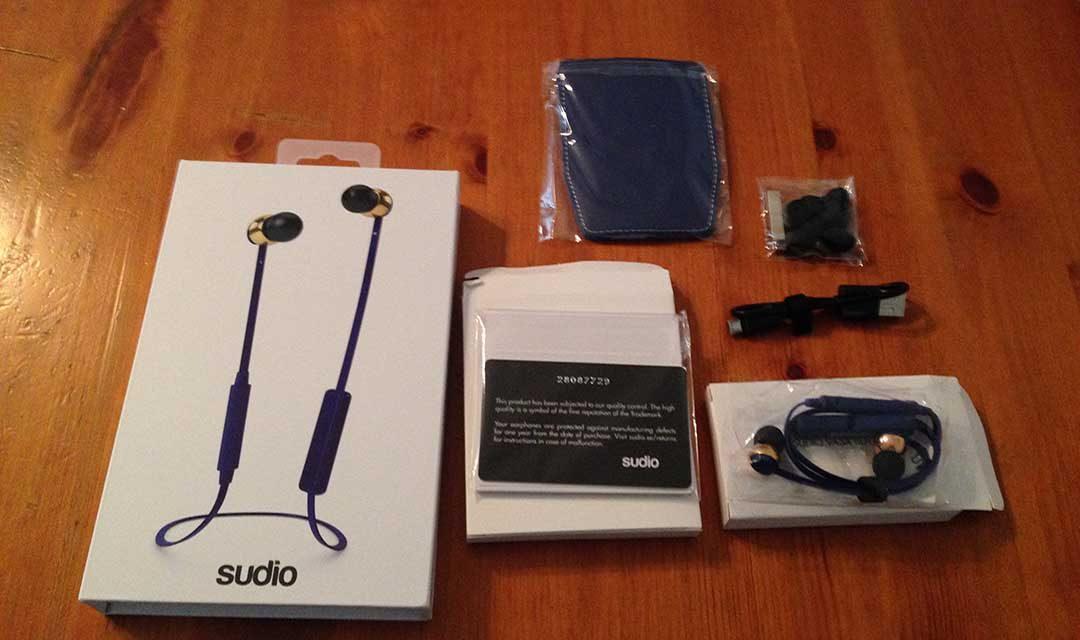 Auricolari Bluetooth Sudio – Recensione Auricolari Bluetooth Vasa Blå