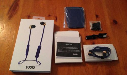 Auricolari Bluetooth Sudio - Recensione Auricolari Bluetooth Vasa Blå