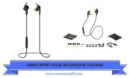 Jabra sport Pulse Recensione Italiana auricolare Sportivo Jabra