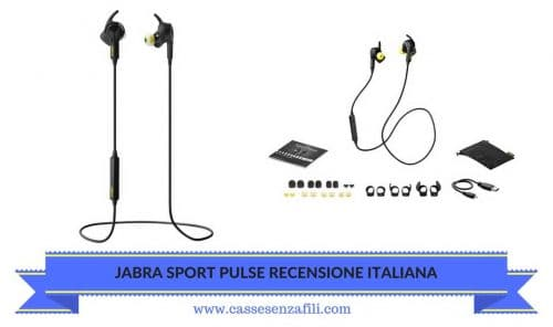 JABRA SPORT PULSE RECENSIONE-ITALIANA