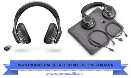 Plantronics Backbeat Pro Recensione Italiana – Cassesenzafili.com