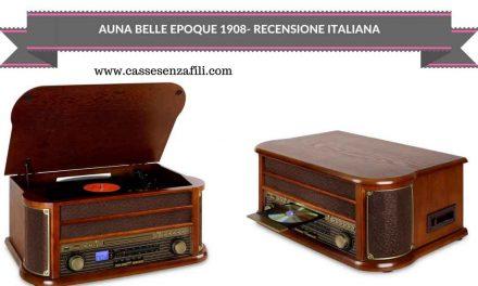 Auna Belle Epoque 1908 – Recensione Italiana Giradischi Vintage Auna
