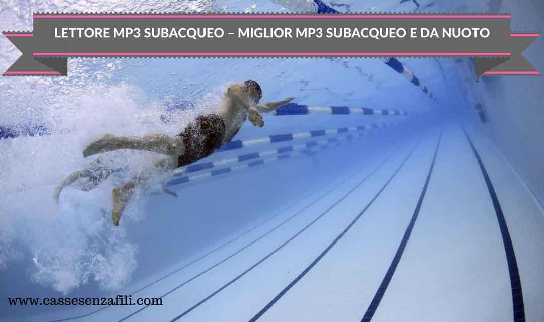 Mp3 subacqueo-Miglior-lettore-mp3-subacqueo-da-Piscina