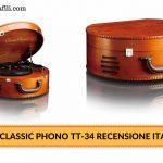 Lenco Classic Phono TT-34 – Recensione Italiana giradschi Lenco