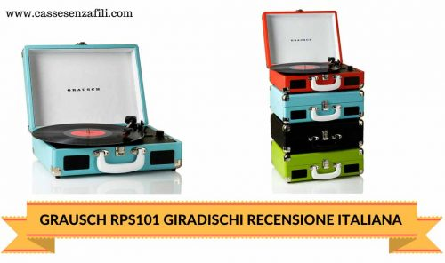GRAUSCH RPS101 GIRADISCHI-RECENSIONE-ITALIANA