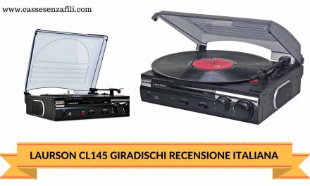 Lauson CL145 – Recensione Italiana Giradischi Lauson
