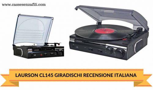 LAUSON CL145 GIRADISCHI-RECENSIONE-ITALIANA