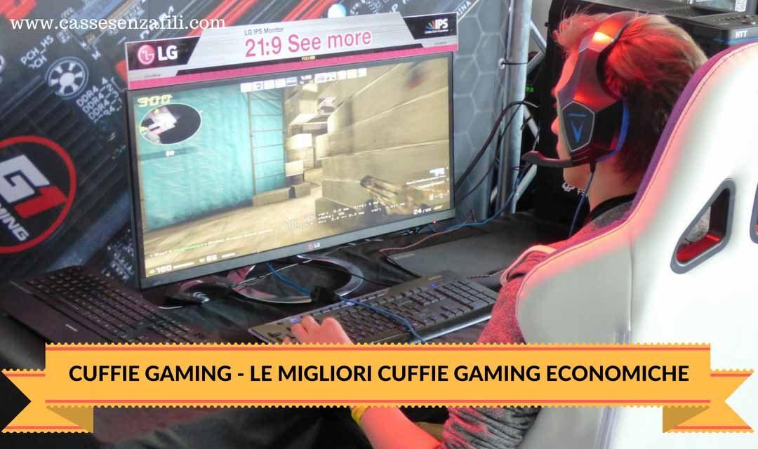 Le 6 Migliori Cuffie Gaming Economiche di ottima Qualità e Prestazioni