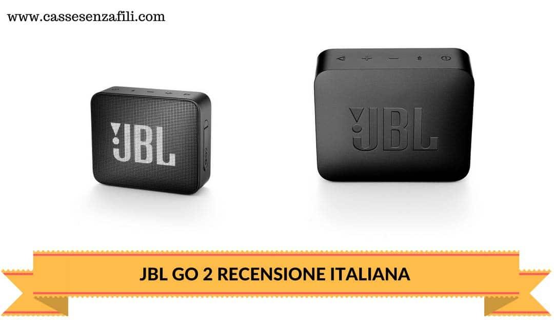JBL GO 2-RECENSIONE-ITALIANA