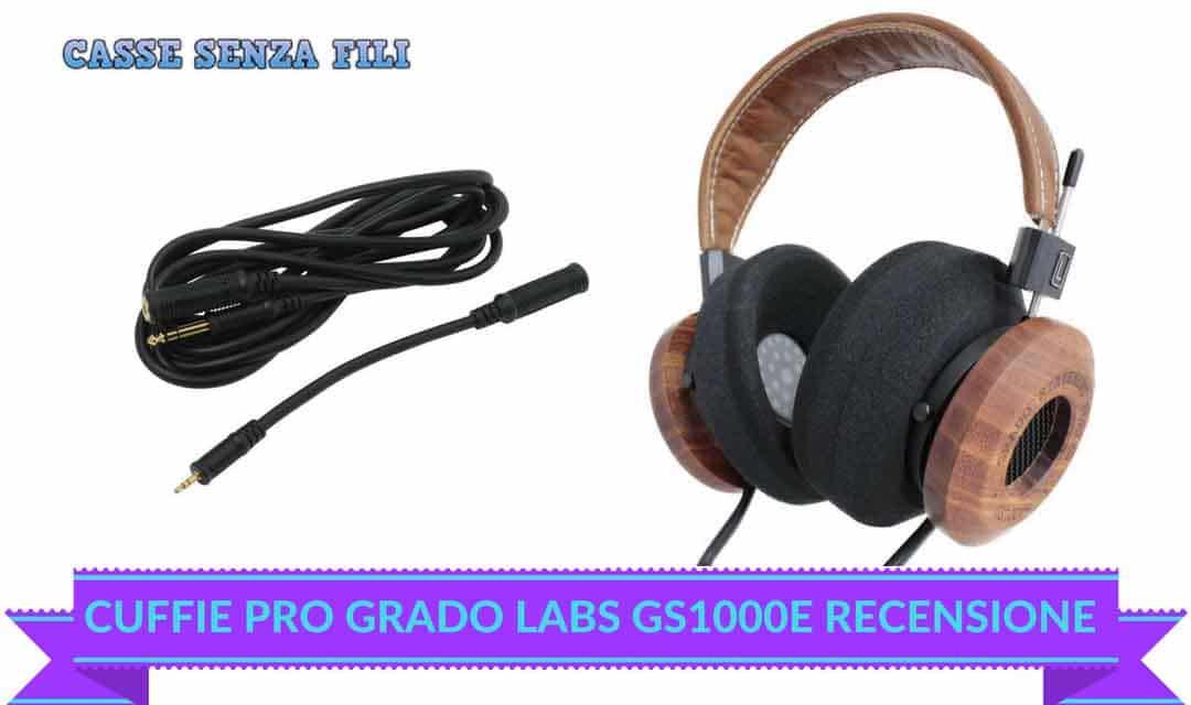 Grado LABS GS1000E Recensione – Le Cuffie Americane per Audiofili