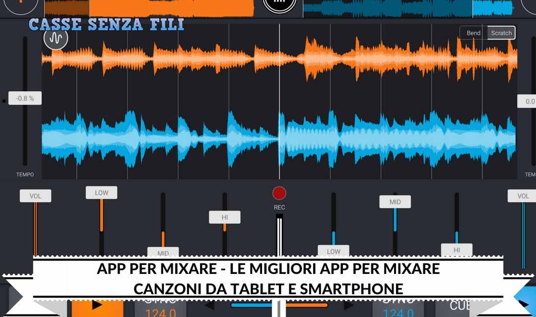App per mixare – Le Migliori App per Mixare canzoni da Tablet e Smartphone