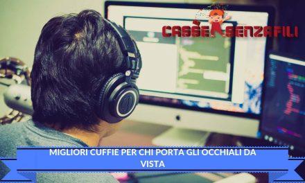 Migliori cuffie per chi porta gli occhiali da vista – Cassesenzafili.com