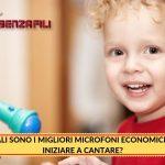 Quali Sono I Migliori Microfoni Economici Per Iniziare a Cantare?