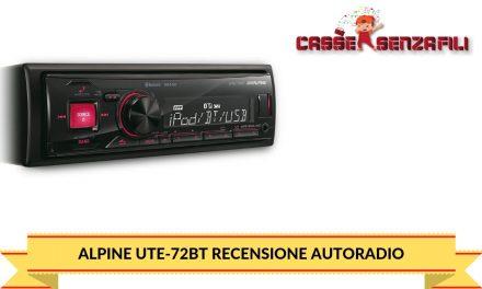 Alpine UTE-72BT Recensione Autoradio – Cassesenzafili.com