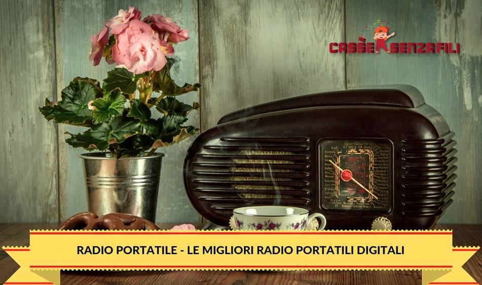 Radio Portatile – Le Migliori Radio Portatili Digitali