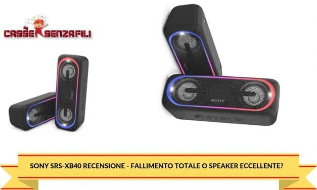 Sony Srs-Xb40 Recensione – Fallimento Totale o Speaker Eccellente?
