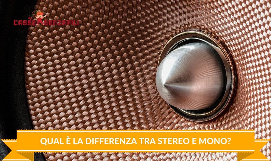 Qual è la Differenza Tra Stereo e Mono_