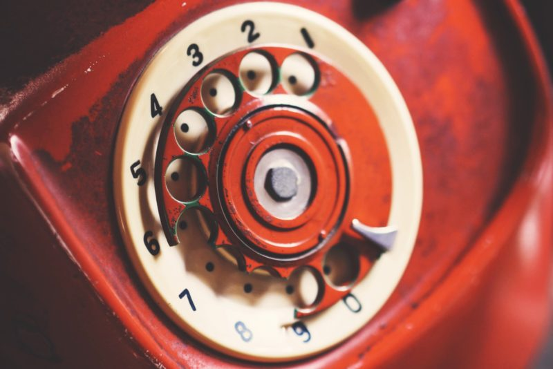 Rotary phone   IDSN Switch off