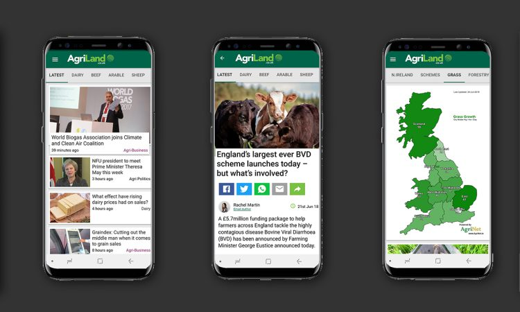 The AgriLand UK App is now available