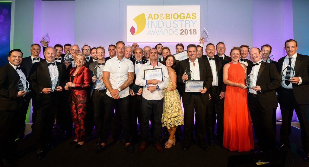 Best in global biogas industry celebrated at industry awards