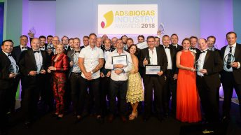 Best in global biogas industry celebrated at industry awards ceremony