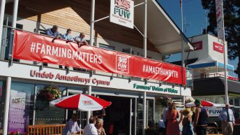 What's happening at the FUW Royal Welsh Show stand this year?