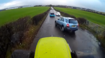 Near-miss tractor cam footage watched more than a million times in just 2 days