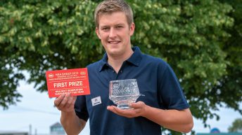 Young Lancashire shepherd takes £1,000 prize money in Sheep Event national final