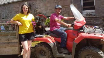 Farm Safety Week: Lanark woman left with broken bones after farm quad accident