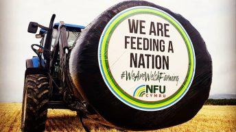 It's a wrap: NFU Cymru drives home the farming message